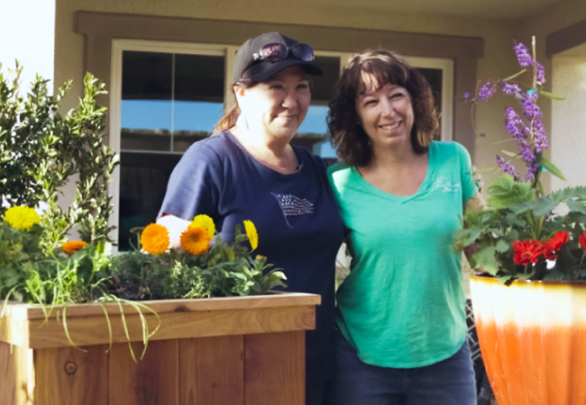 gloria and tracy from Tracy's Nursery and Gardens